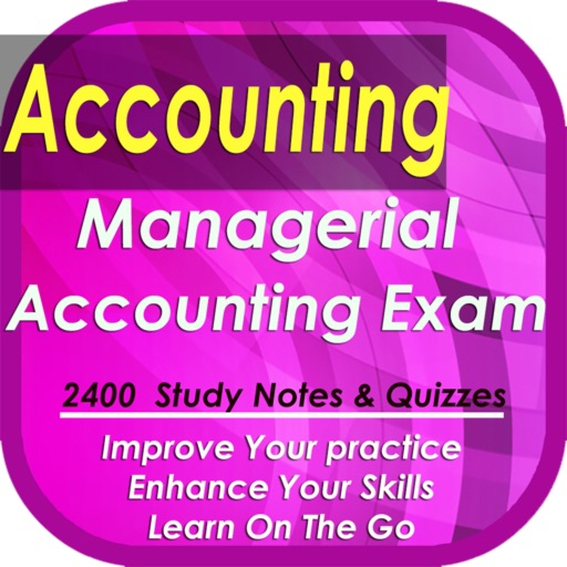 managerial accounting exam Management accounting exam prep uses proven study and test-taking strategies so that you'll feel in management accounting or managerial accounting, managers use the provisions of.