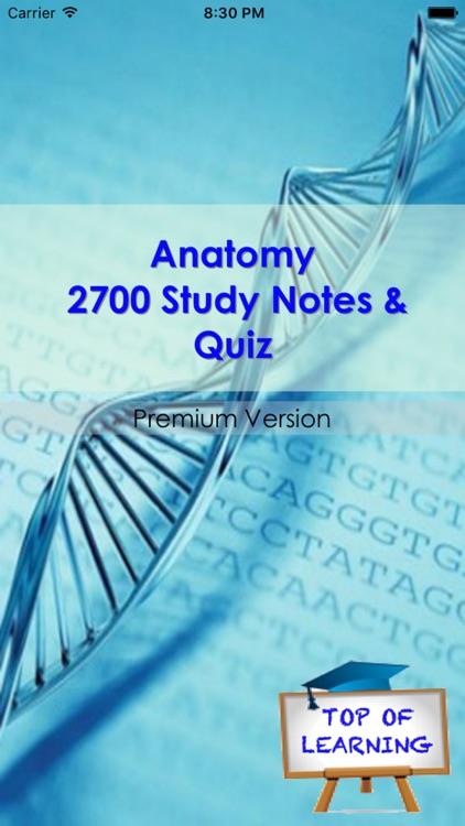 Anatomy & Physiology +2700 Study Notes & Exam Quiz screenshot-4