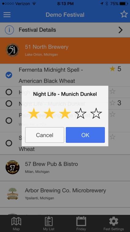 BeerFestList screenshot-4