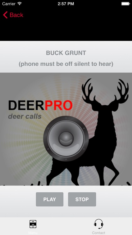 Deer Calls & Deer Sounds for Deer Hunting - BLUETOOTH COMPATIBLE screenshot-1