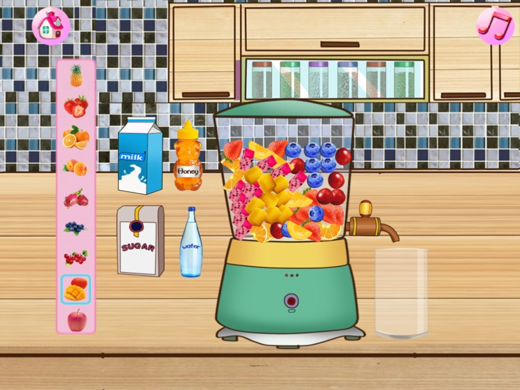 Cream Cake Maker:Juice Cookie. screenshot-3