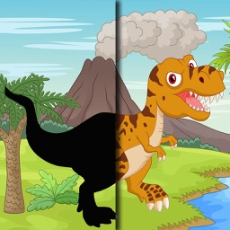 Dinosaurs Shapes Puzzle Games For Kids