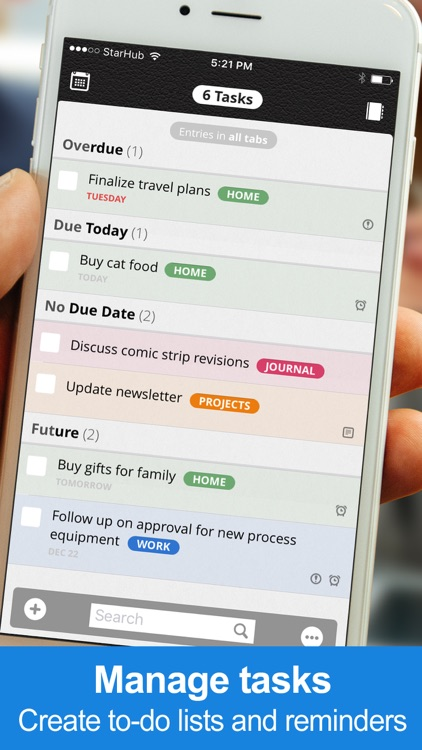 Daily Notes + Tasks screenshot-2