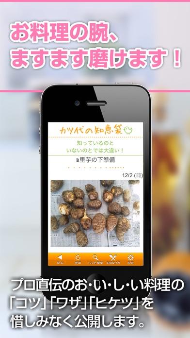 KATSUYOレシピ ~小林カツ代の家庭料理~ ScreenShot4