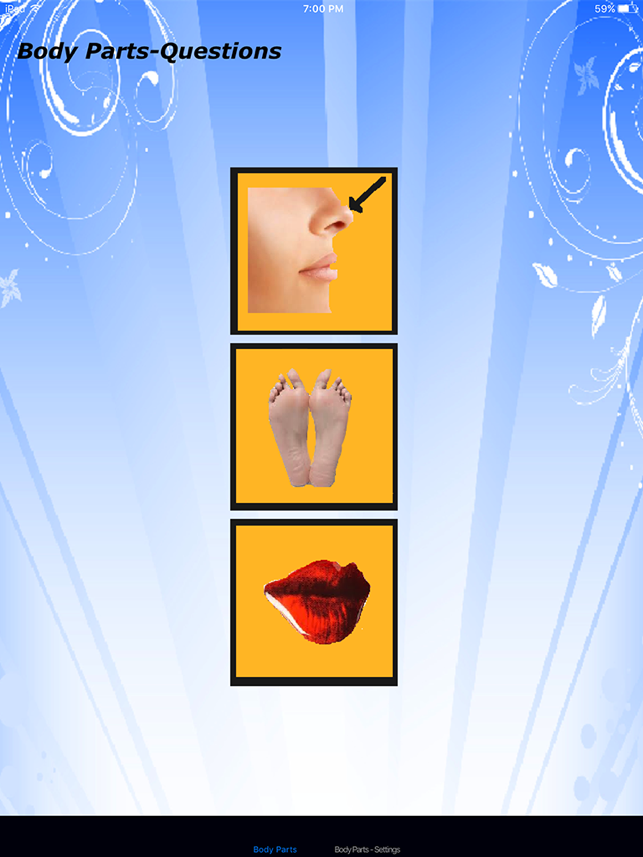 ‎Body Parts - Basic Screenshot