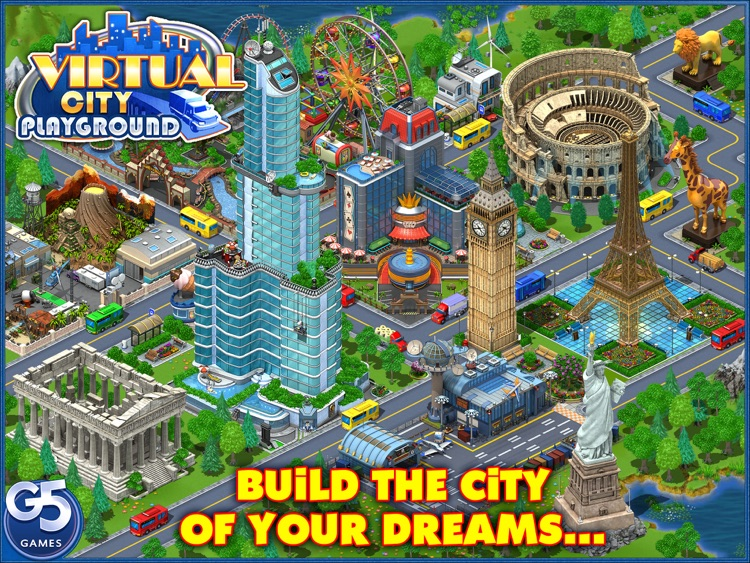 Virtual City Playground HD screenshot-0