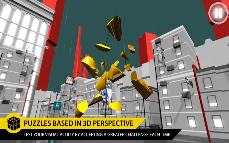 Perfect Angle: The best puzzle game based on optical illusions screenshot 3