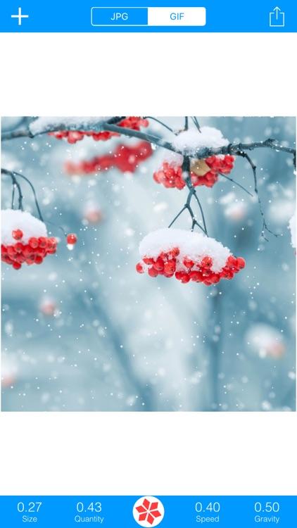Snowing: GIF&JPG