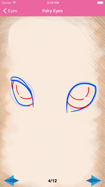 Artist Pink - How to draw Eyes screenshot-4