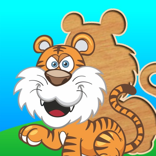 Cute puzzles for kids - toddlers educational games and children's preschool learning iOS App