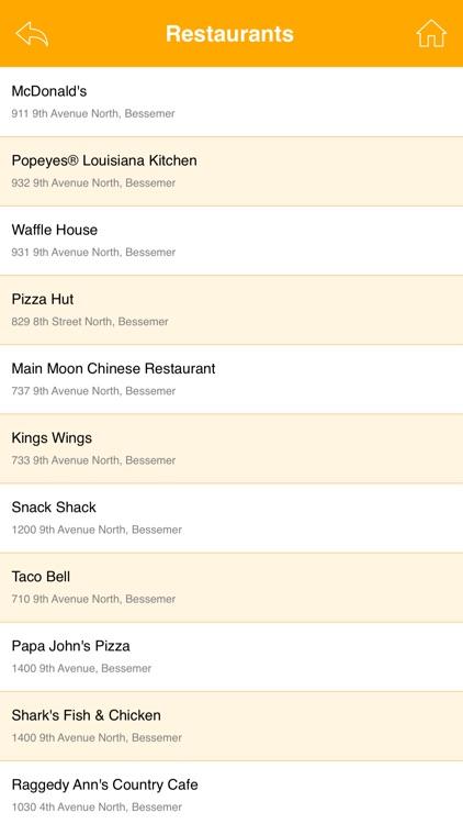 Fried Chicken Restaurants USA screenshot-4
