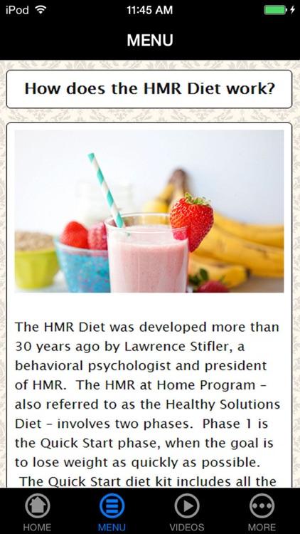 Best HMR Diet for Beginner's Guide & Tips
