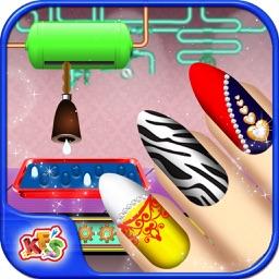 Princess Nail Art Factory – Make beauty salon & makeover items in this simulator game