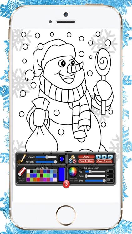 Coloring Book Frozen screenshot-3