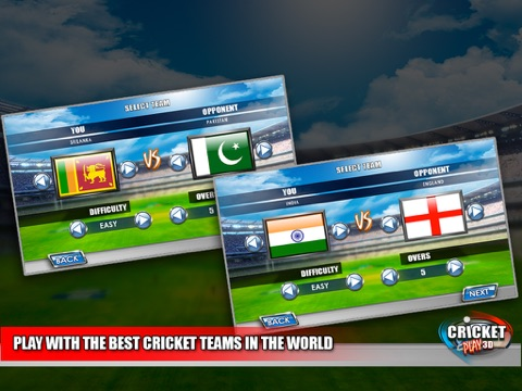 Cricket Play 3D - Live The Game (World Pro Team Challenge Cup 2016)-ipad-4