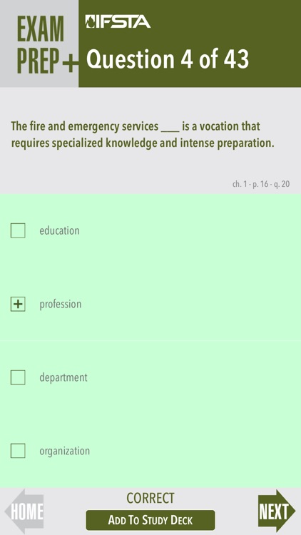 Fire and Emergency Services Instructor 8th Edition Exam Prep Plus screenshot-3