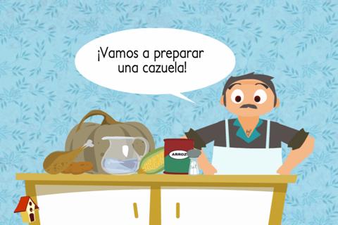 Vamos a cocinar y a contar Experto screenshot 2