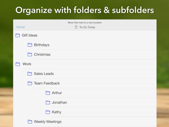 Genius Notepad, Memos and Textpad screenshot