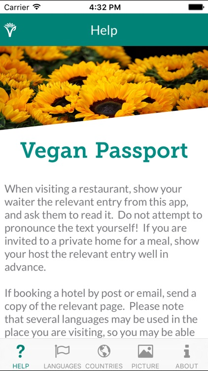 Vegan Passport screenshot-1