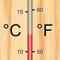 Convert between degrees Celsius and degrees Fahrenheit
