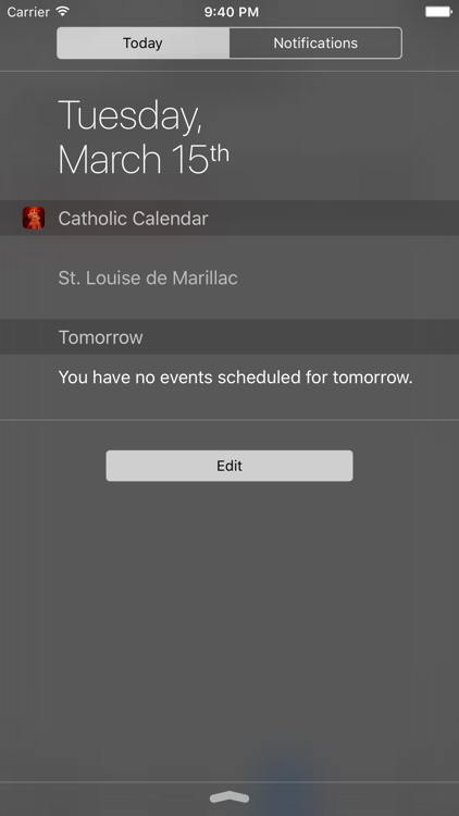 Catholic Calendar with notifications screenshot-3