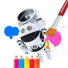 Activities of Robot Color Book