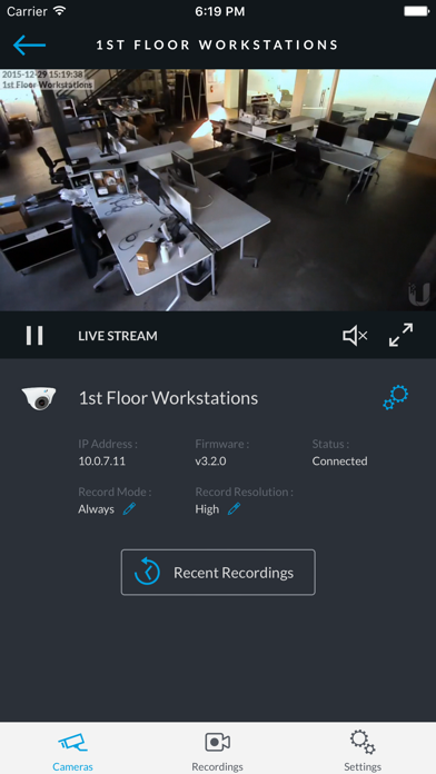 UniFi Video by Ubiquiti Networks (iOS, United States