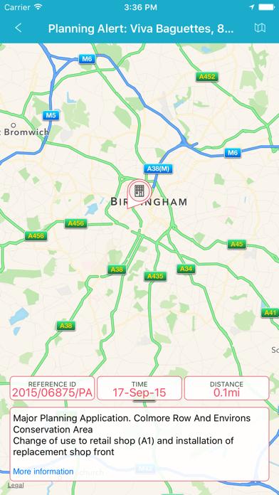 Birmingham City Notiz screenshot four