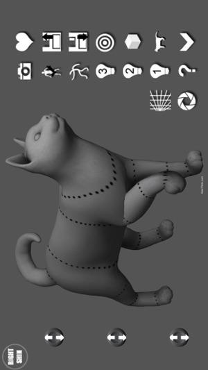 Cat Pose Tool 3D