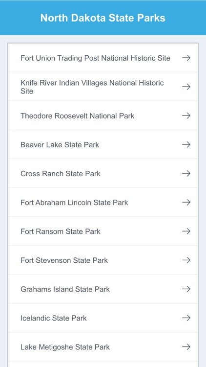 North Dakota State Parks & National Parks screenshot-1