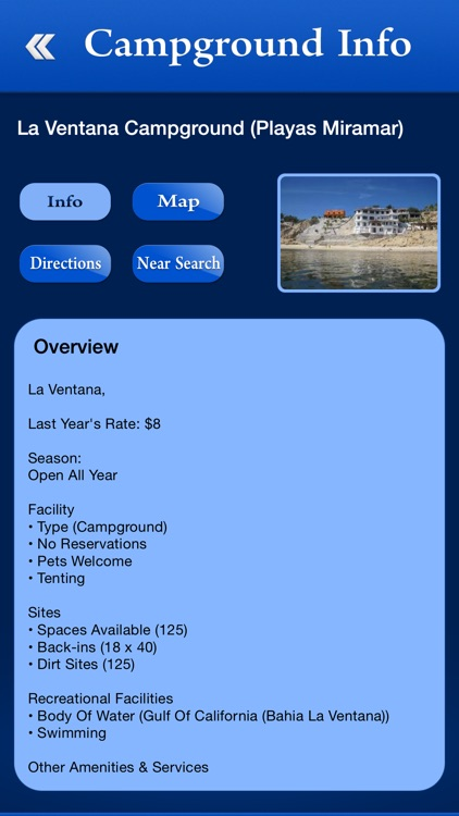 Mexico Campgrounds and RV Parks screenshot-2