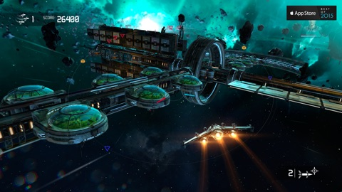 Screenshot #1 for Galaxy on Fire™ - Manticore RISING