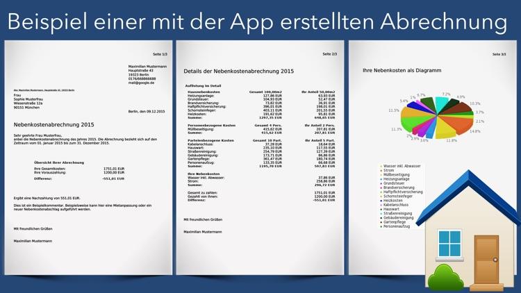 Nebenkosten App screenshot-4