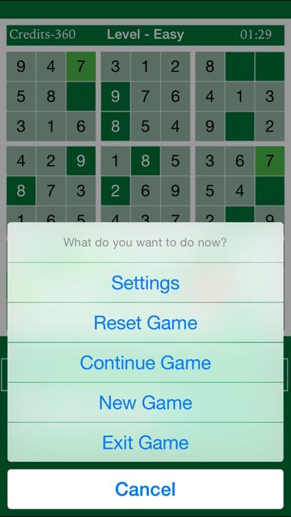 Smart Sudoku - Brain Training Exercises screenshot-3