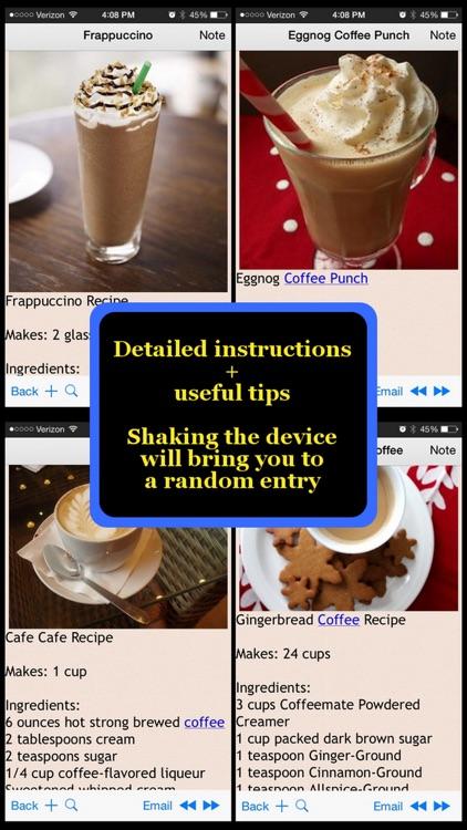 Coffee Recipes Plus+
