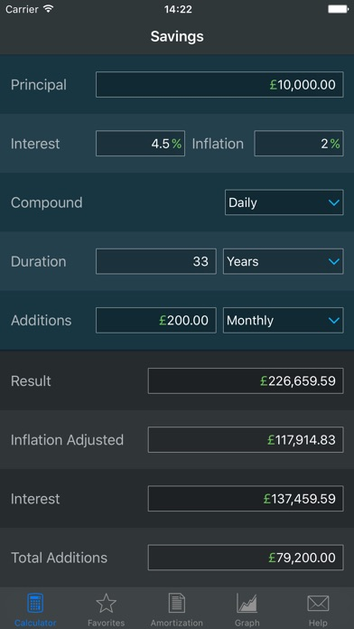 Screenshot for Compound Interest Calculator in India App Store