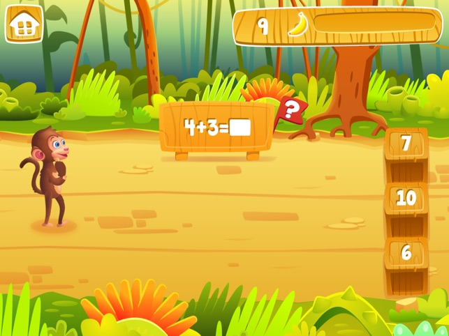 Matematica Giungla : Grade 1 Screenshot