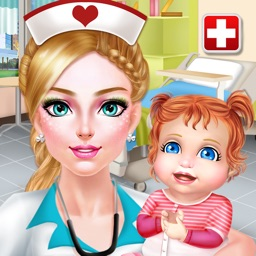Nurse & Newborn Baby - Hospital Makeover & Dress Up