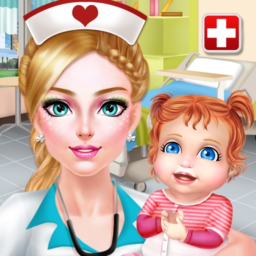 Nurse & Newborn Baby - Hospital Makeover & Dress Up