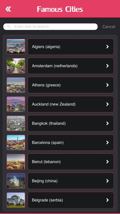 Most Famous Cities of the World screenshot-2