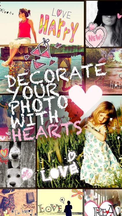 My Heart Camera - photo collage app -