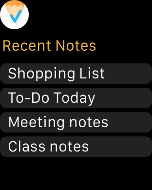 Notes, Notepad & Memo - UpWord Screenshot
