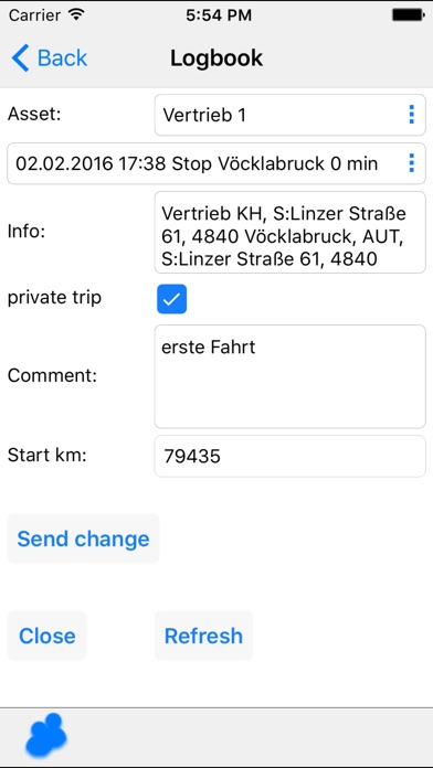 Screenshot for GPS-Fleet-Software-APP in Austria App Store