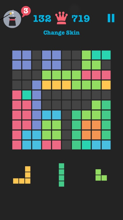 Free to Fit: Color block puzzle logic stack dots screenshot-0