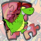 Dino Puzzle for Kindergarteners - Dinosaurs Educational icon