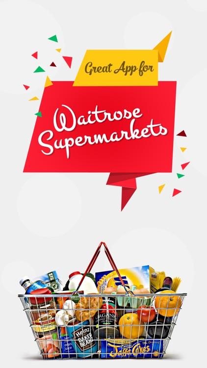 Great App for Waitrose Supermarkets