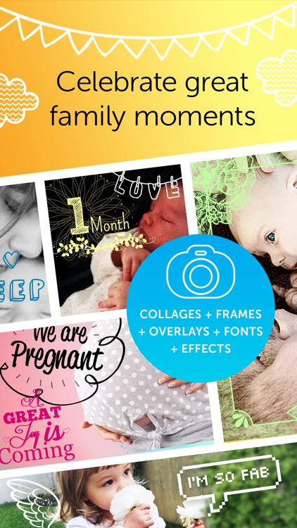 Baby Photo Editor - Pregnancy & Baby Milestone pics screenshot-0
