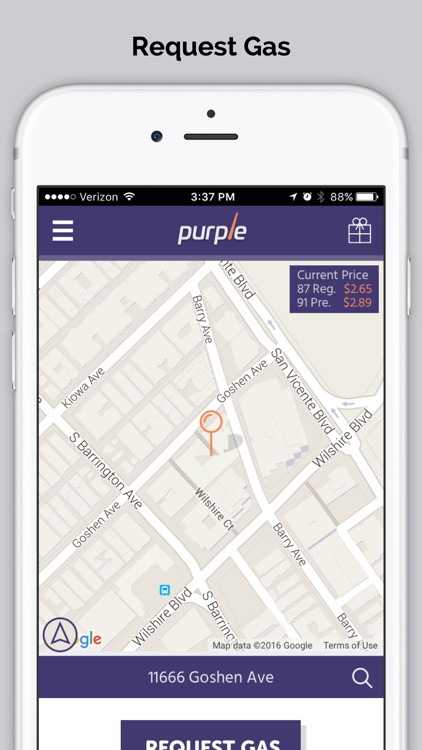 Purple - On-Demand Gas Delivery