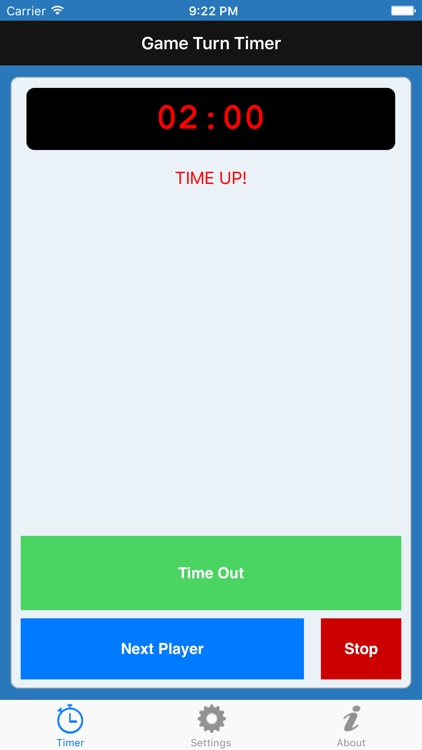 Game Turn Timer - for scrabble screenshot-3