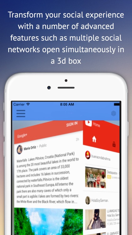 Social Media Management - all your social networks in one app